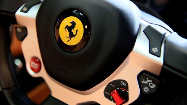 Ferrari, logo - Sputnik Mundo