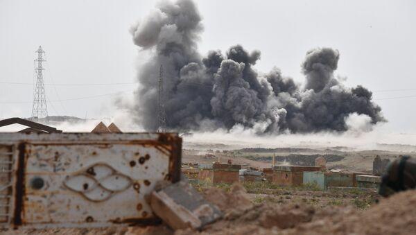 Lucha de Rusia contra los terroristas en Siria (archivo) - Sputnik Mundo