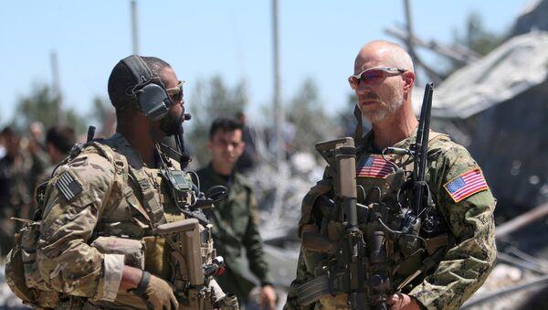 Militares de EEUU - Sputnik Mundo