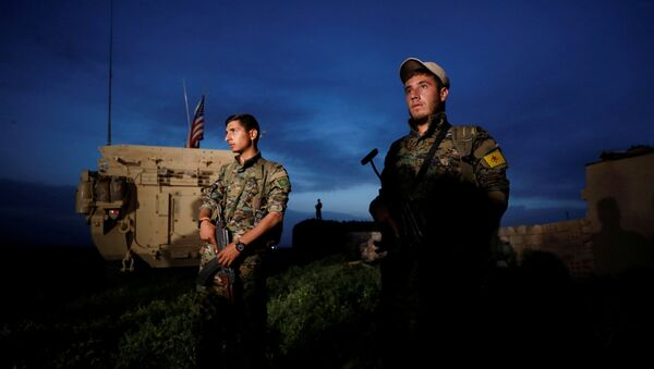 Kurdos sirios (archivo) - Sputnik Mundo