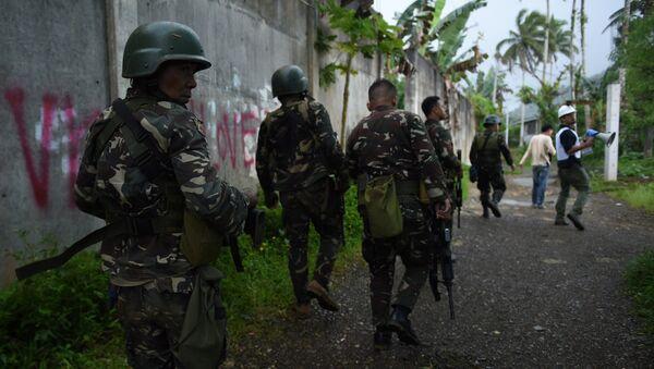 Los militares de Filipinas - Sputnik Mundo