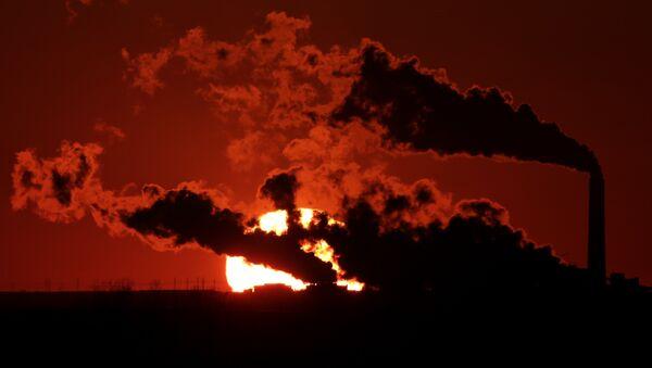 Central eléctrica alimentada por carbón en EEUU - Sputnik Mundo