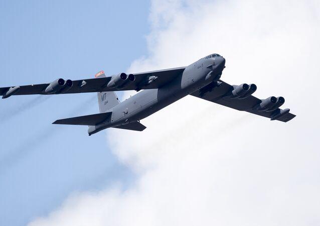 El B-52 Stratofortress (archivo)