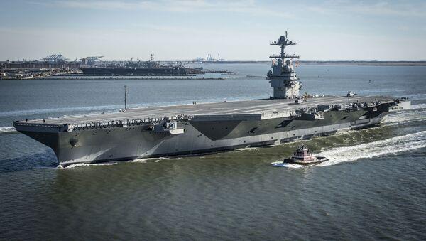 Portaviones estadounidense, USS Gerald R. Ford - Sputnik Mundo