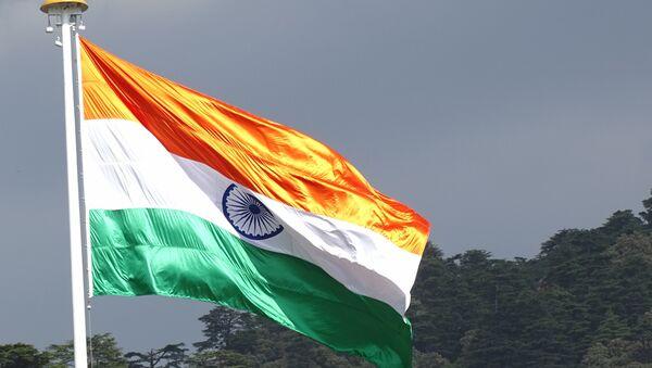 Bandera de la India - Sputnik Mundo