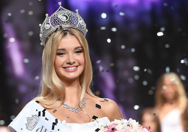 Polina Popova, la ganadora del concurso de belleza Miss Rusia 2017