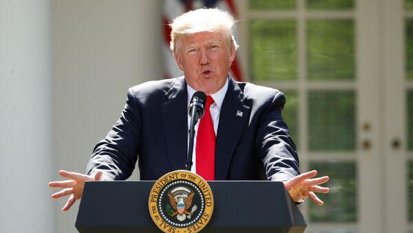 Donald Trump, presidente de EEUU (archivo) - Sputnik Mundo
