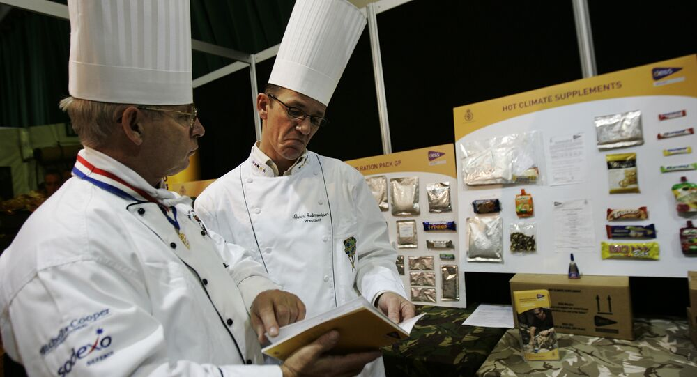 Cocineros del Ejército británico