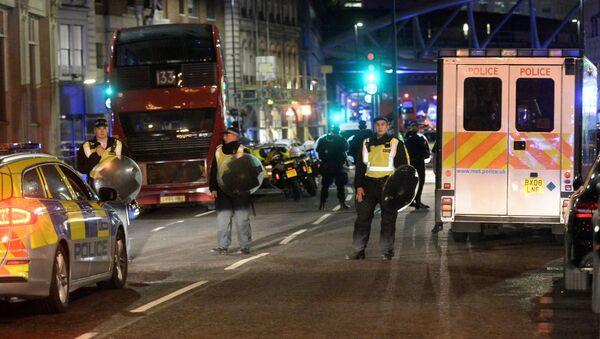 La policía de Londres - Sputnik Mundo