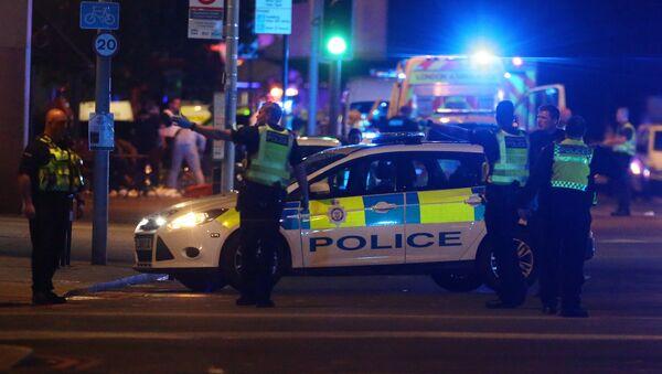 Policía británica (imagen referencial) - Sputnik Mundo