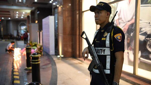 La policía de Filipinas en Manila - Sputnik Mundo