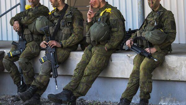 Militares de la OTAN (archivo) - Sputnik Mundo