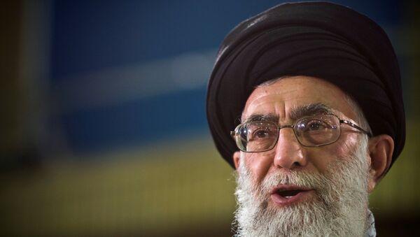 Alí Jameneí, líder supremo iraní - Sputnik Mundo
