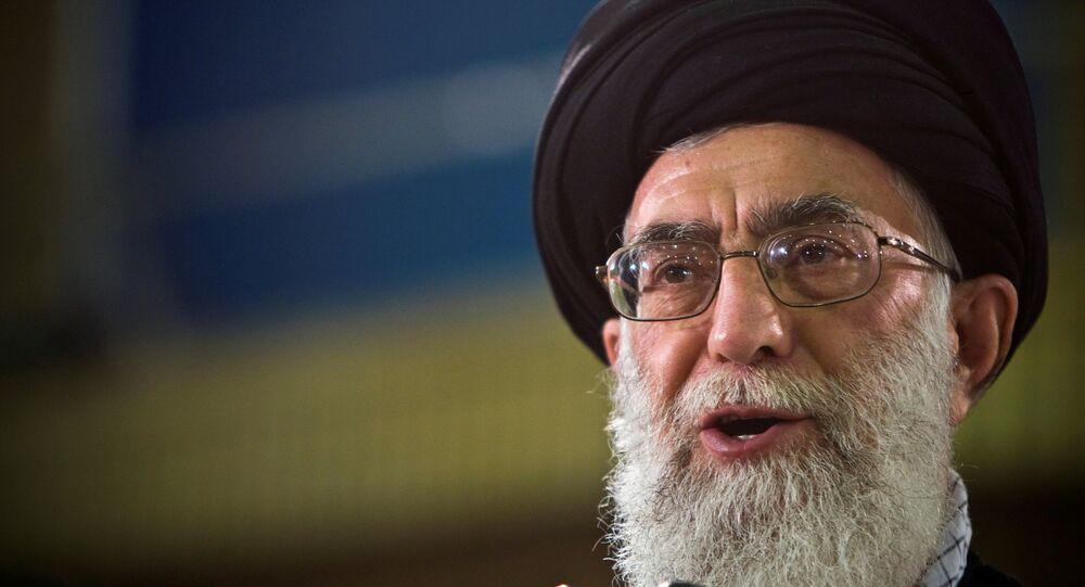 Alí Jameneí, líder supremo iraní (archivo)