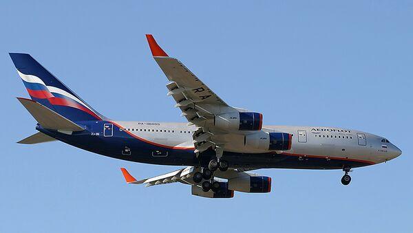An Ilyushin Il-96 Camber jetliner - Sputnik Mundo