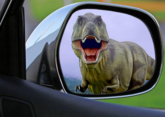 Un dinosaurio