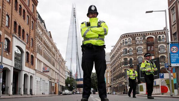 Policía de Londres (imagen referencial) - Sputnik Mundo