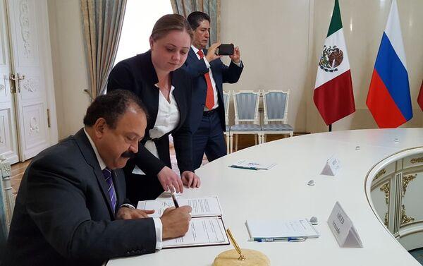 Moscú y Ciudad de México firman un acuerdo de cooperación en el ámbito de la sanidad pública - Sputnik Mundo