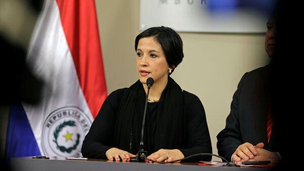Lea Giménez, nueva ministra de Hacienda de Paraguay - Sputnik Mundo