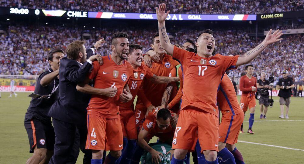 Selección de fútbol de Chile (archivo)
