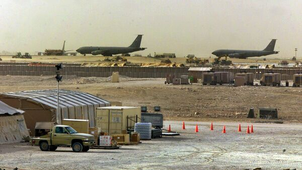 Al Udeid, base militar de EEUU en Catar - Sputnik Mundo