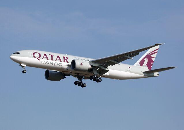Un avión de Qatar Airways