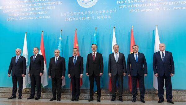 Los cancilleres de los países miembros de la OCS - Sputnik Mundo
