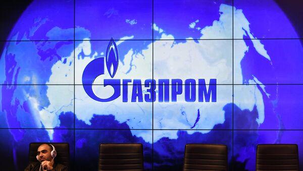 Logo de Gazprom - Sputnik Mundo