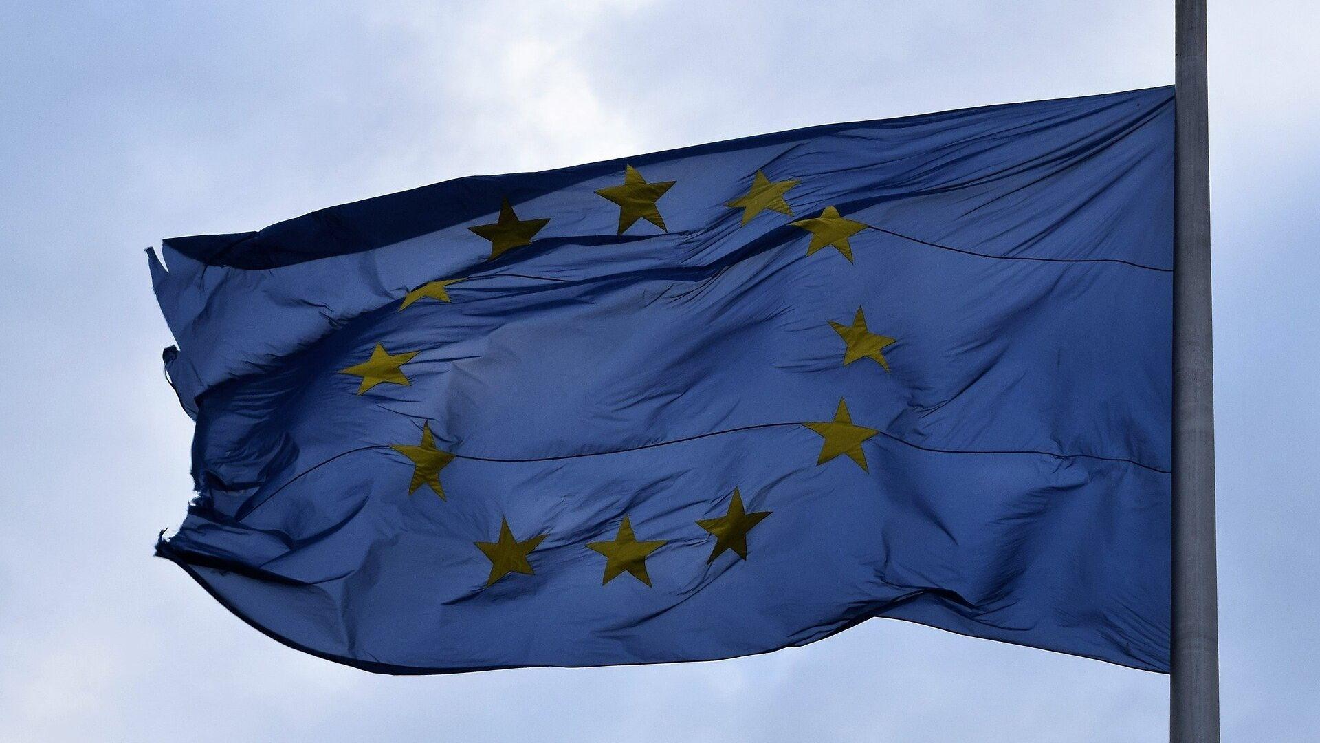 Bandera de la UE - Sputnik Mundo, 1920, 13.12.2019