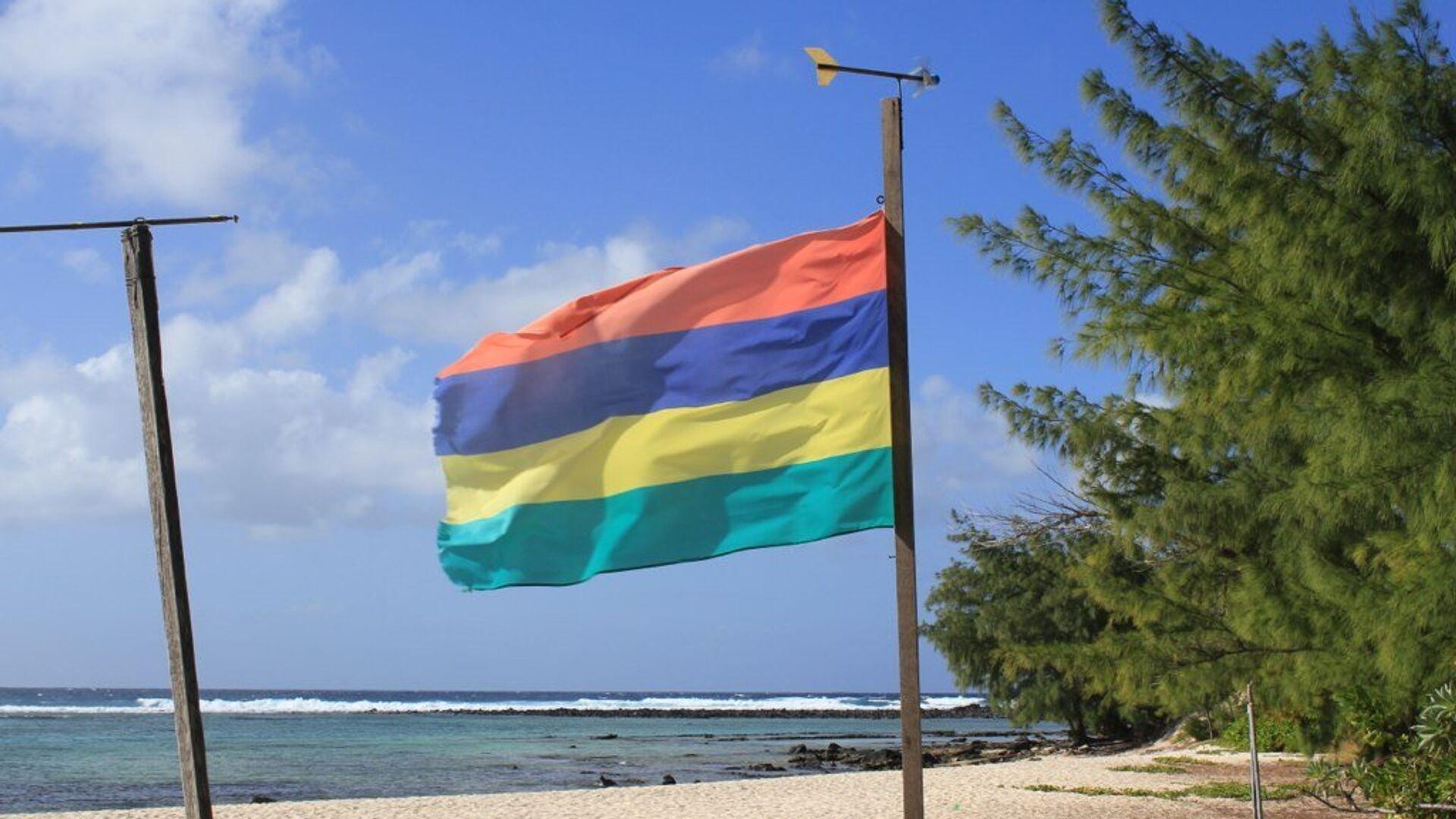 Bandera de la República de Mauricio - Sputnik Mundo, 1920, 22.03.2021