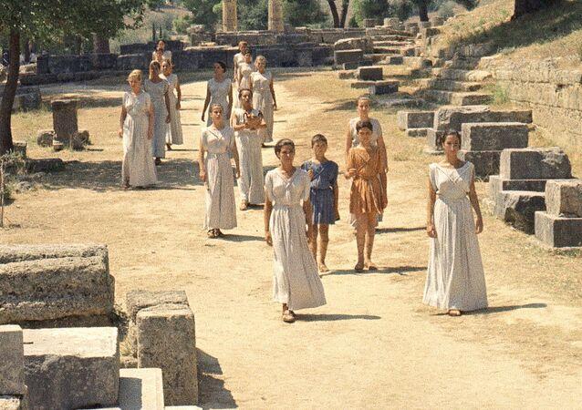 Antiguos griegos (imagen referencial)
