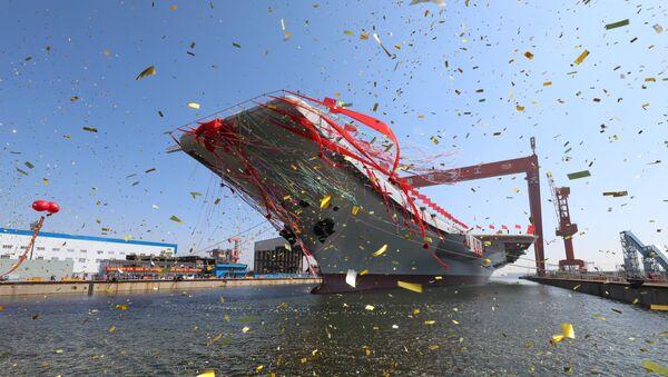 La botadura del portaviones chino Liaoning - Sputnik Mundo
