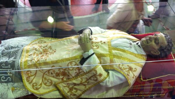 Momia de Don Bosco - Sputnik Mundo