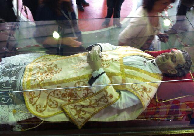 Momia de Don Bosco