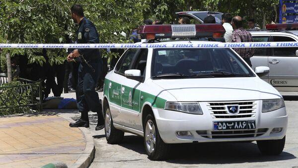 Policía de Irán - Sputnik Mundo