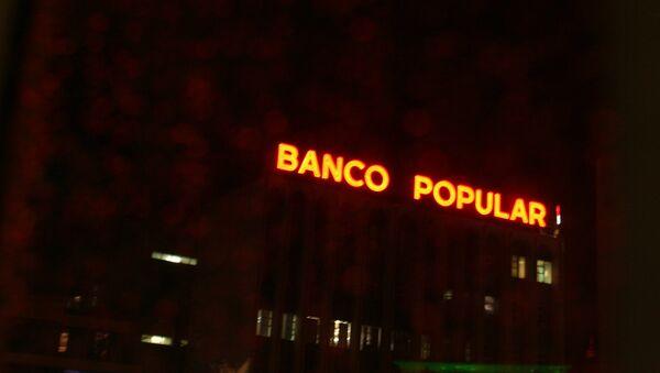 Banco Popular - Sputnik Mundo