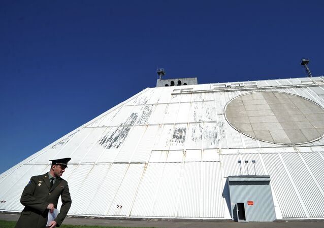 Una estacion de radar del sistema de defensa antimisiles de Moscú (archivo)