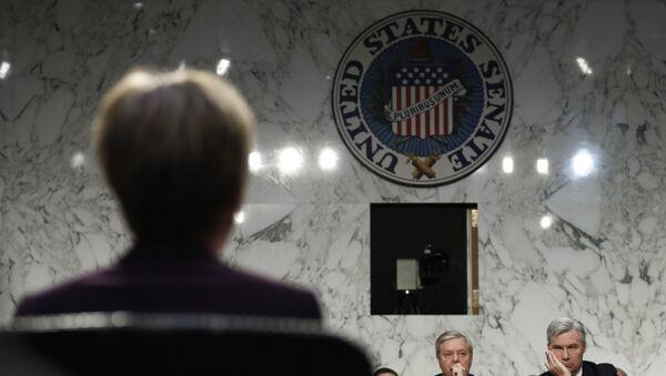El Senado de EEUU - Sputnik Mundo