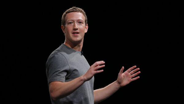 Mark Zuckerberg - Sputnik Mundo
