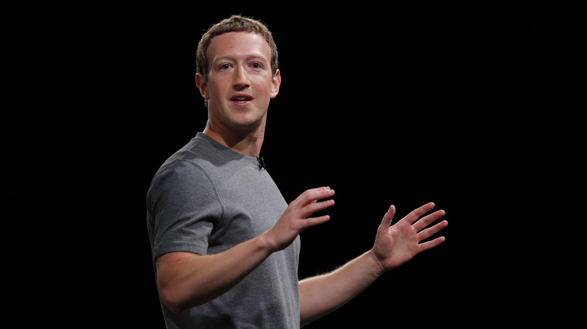 Mark Zuckerberg - Sputnik Mundo, 1920, 28.04.2021