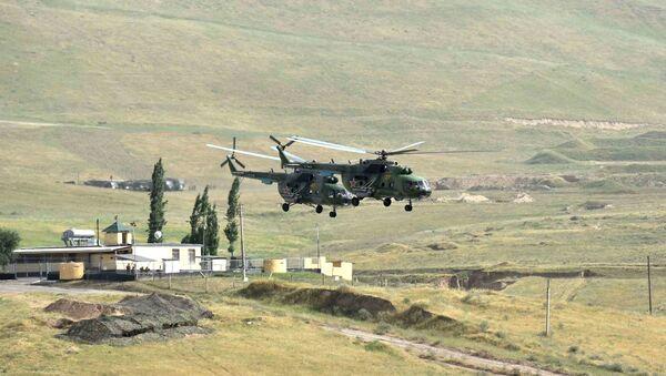 Maniobras antiterroristas conjuntas 'Dushanbe-Antiterror-2017' - Sputnik Mundo