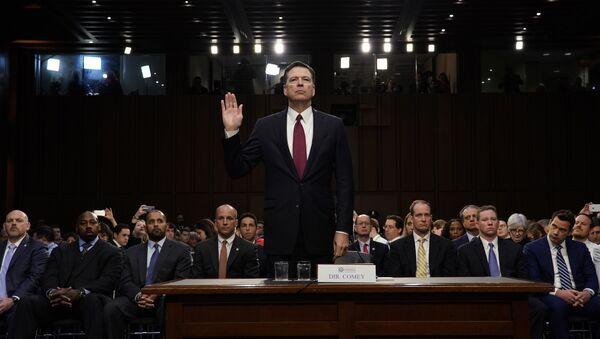 James Comey, exjefe del FBI - Sputnik Mundo