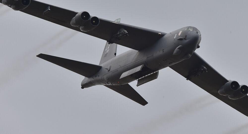 US Air Force B-52 bomber