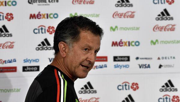 Juan Carlos Osorio, Director técnico de Selección mexicana de fútbol - Sputnik Mundo