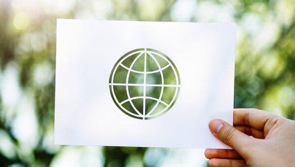 Un planeta verde (imagen referencial) - Sputnik Mundo