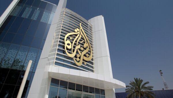 Logo de la televisión Al Jazeera - Sputnik Mundo