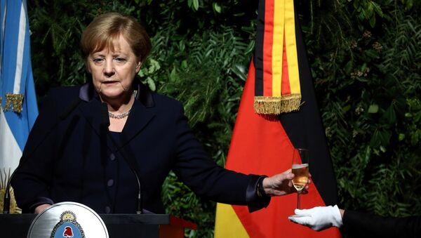 Angela Merkel, canciller alemana en Argentina - Sputnik Mundo