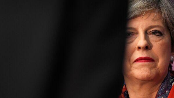 Theresa May, la primera ministra del Reino Unido - Sputnik Mundo