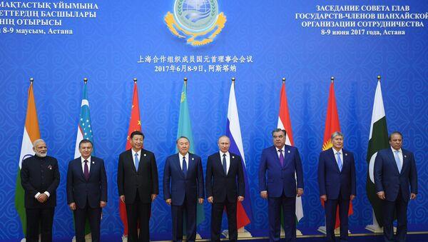 Ingreso de la India y Pakistán en la OCS - Sputnik Mundo