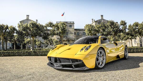 Los automóviles deportivos más pintorescos, en la exposición City Concours de Londres - Sputnik Mundo